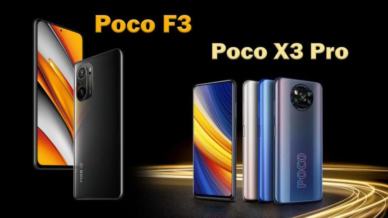 Poco-F3-vs-Poco-X3-Pro