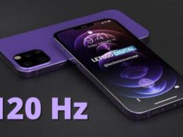 iPhone 13 120 Hz