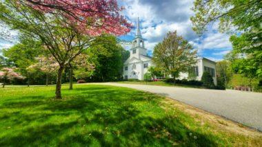 Пролет в нова Англия,Лексингтън, Масачузетс, мобилна фотография