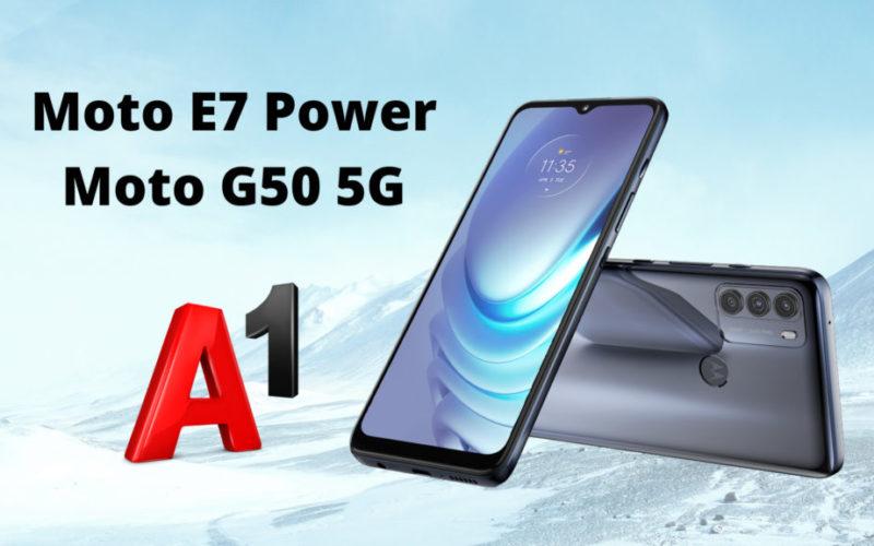 Moto G50 5G Moto E7 Power