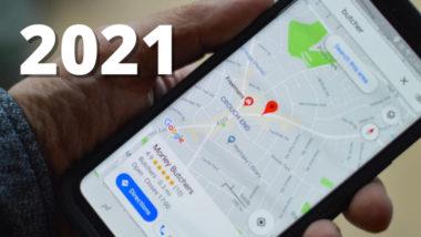 Google Maps през 2021