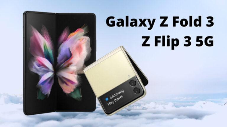 рендери на Galaxy Z Fold 3 Z Flip 3 5G