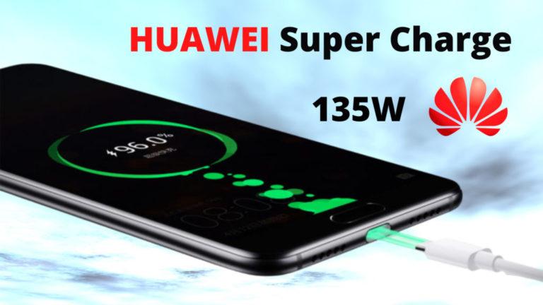 HUAWEI Super Charge - 135W - за смартфони и лаптопи