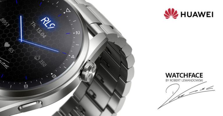 HUAWEI Watch 3 идва с ексклузивен циферблат с подписа на Робърт Левандовски