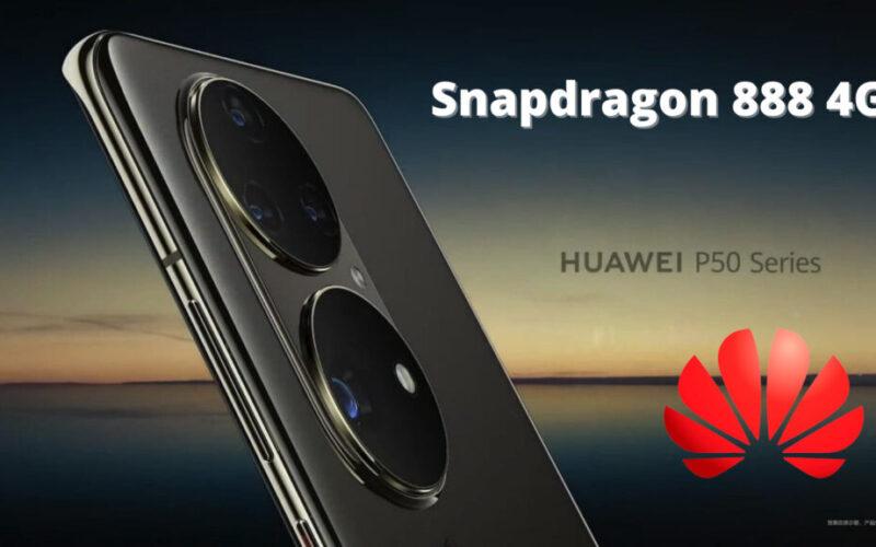 huawei-p50 ще се задвижва от Snapdragon 888 4G