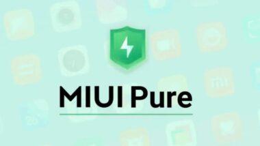 MIUI Pure Mode ще защитава потребителите от злонамерени приложения, като забранява инсталирането на приложения от трети страни и блокира инсталация във фонов режим без съгласието на потребителите.