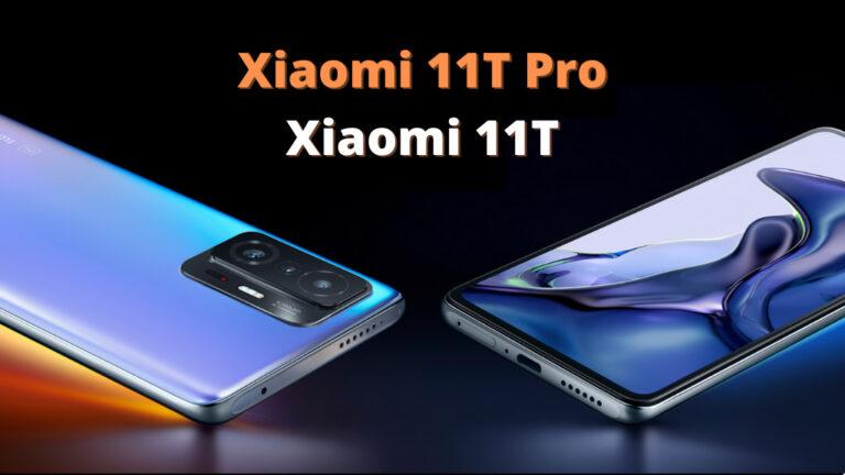 Xiaomi 11T Pro i Xiaomi 11T